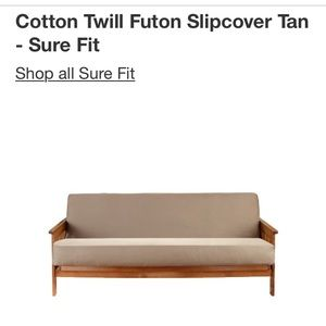 Cotton Twill Futon Cover